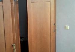 складная дверь деревянная шпонированная