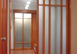 раздвижные двери из массива осины на заказ