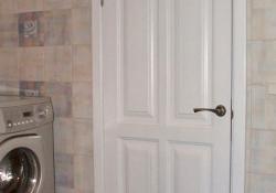 белые деревянные двери на заказ