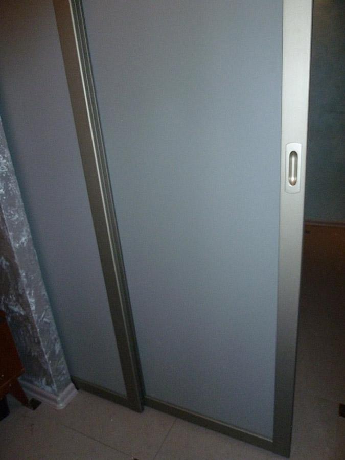подвесная дверь для шкафа купе - фото