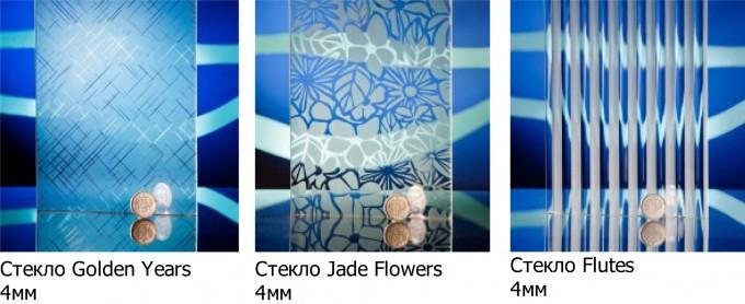Каталог декоративных стекол для вставок в полотно дверей купе