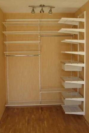 наполнение для гардеробной комнаты под заказ в спб