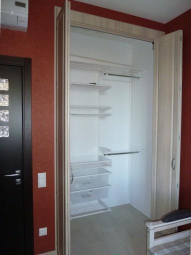 элементы гардеробной системы Эльфа для встроенного шкафа