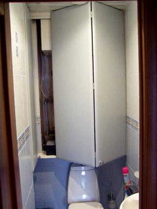 двери для ниши складные