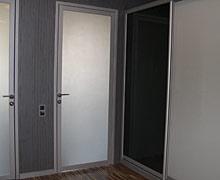 двери на заказ в спб - распашные стеклянные