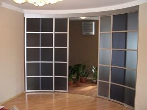 современные двери, алюминиевые двери