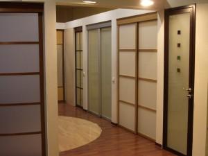 Алюминиевые двери, монтаж, установка