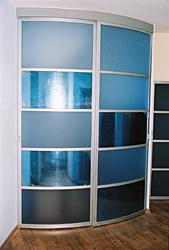 радиусные двери для шкафов