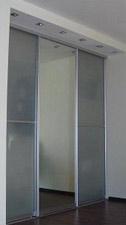 фото алюминиевых дверей перегородок