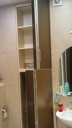 складные двери в ванную на заказ в Петербурге