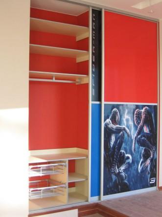двери купе для шкафов в детскую
