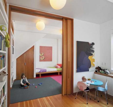 раздвижные двери для детской комнаты