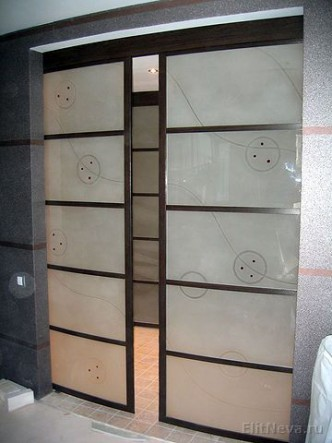 дизайн раздвижных дверей и межкомнатных перегородок