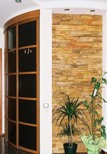 дизайнерские радиусные двери