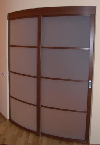полукруглая дверь межкомнатная
