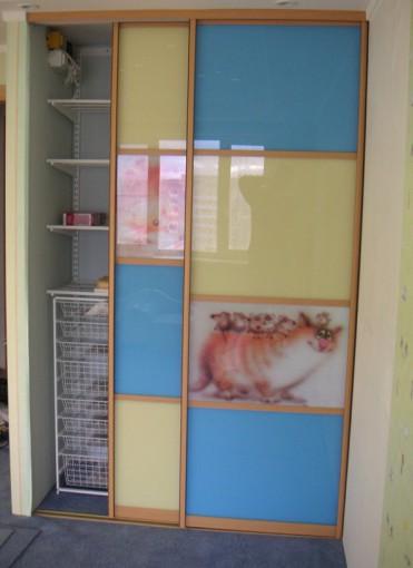 особенности дизайна дверей для детской