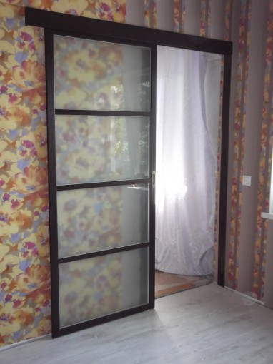 купить одностворчатые раздвижные двери в СПб