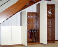 механизм открывания складной двери для шкафа