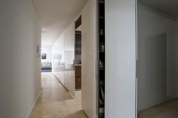 современные раздвижные двери в интерьере квартиры фото