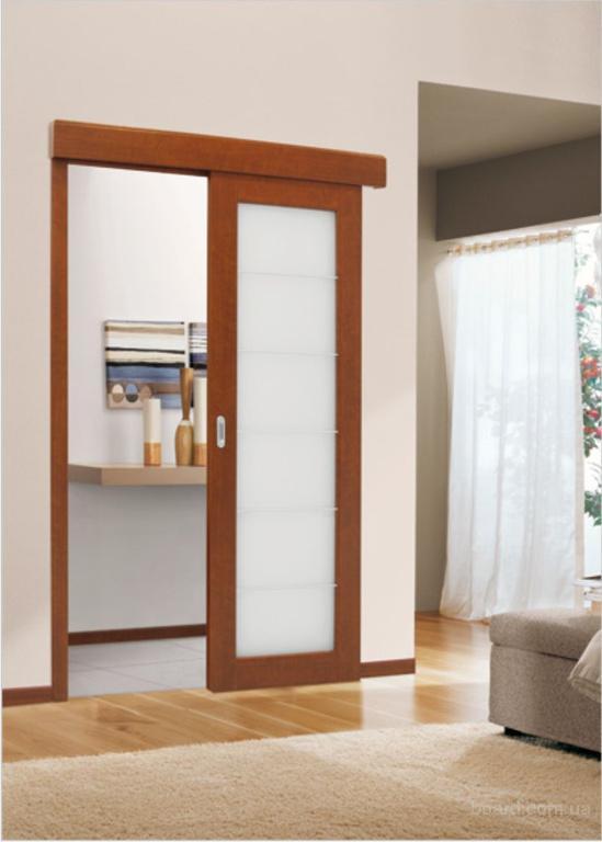раздвижная дверь в сауну