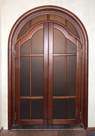дверь арка из массива на заказ