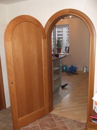 дверь деревянная арка на заказ