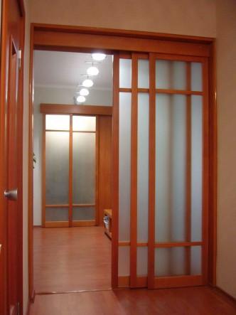 раздвижные двери из массива купить в Петербурге