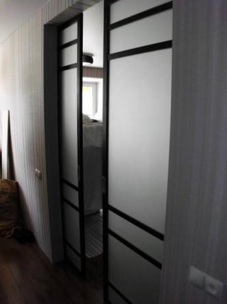 Откатная дверь в пенал на заказ в Петербурге