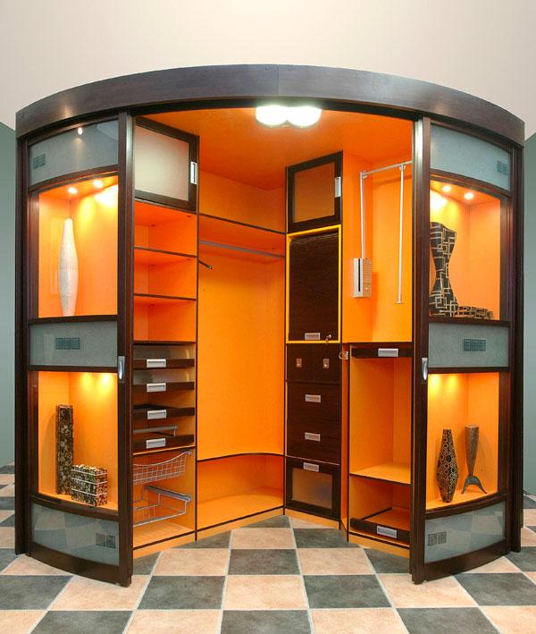 Дизайн дверей в гардероб