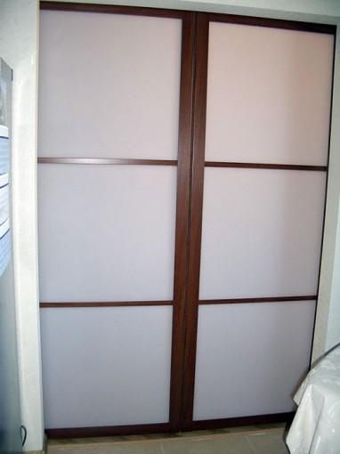 дверь в спльню двухстворчатая