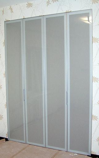 купить складные двери в кладовую в спб
